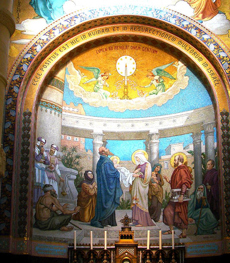 04 - La présentation au Temple