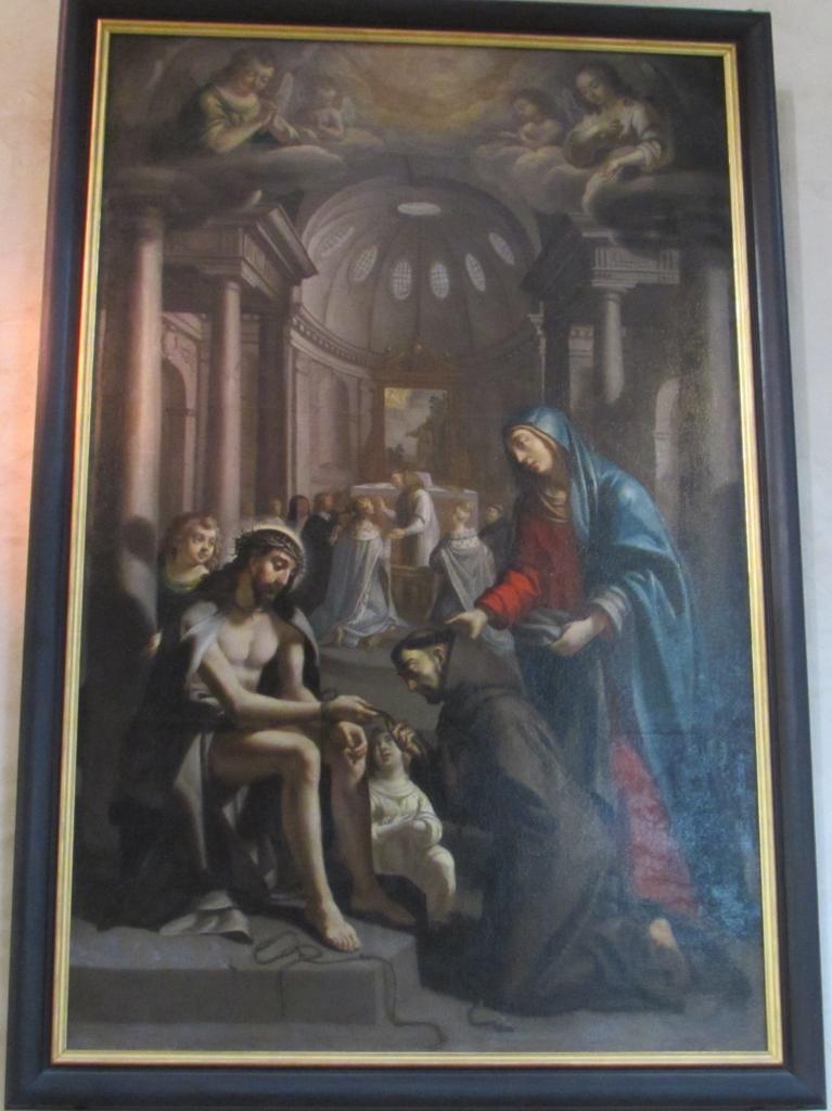 049.Peinture sur le bas-côté