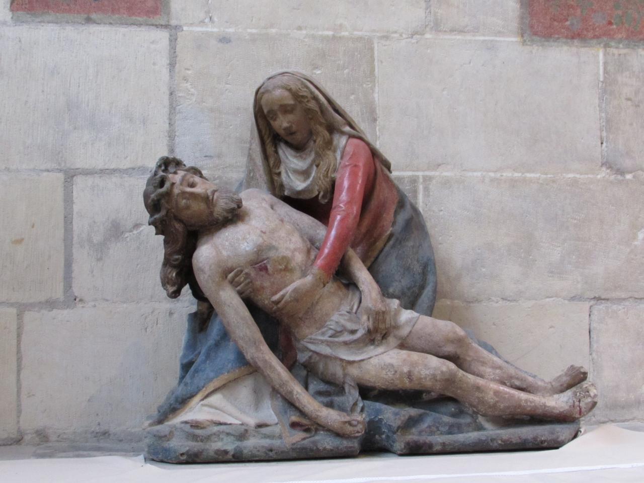 062.Vierge de Pitié du XVè