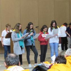 105 - Cérémonie d'ouverture à Ste Bernadette