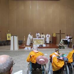 106 - Cérémonie d'ouverture à Ste Bernadette