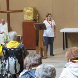 111 - Cérémonie d'ouverture à Ste Bernadette