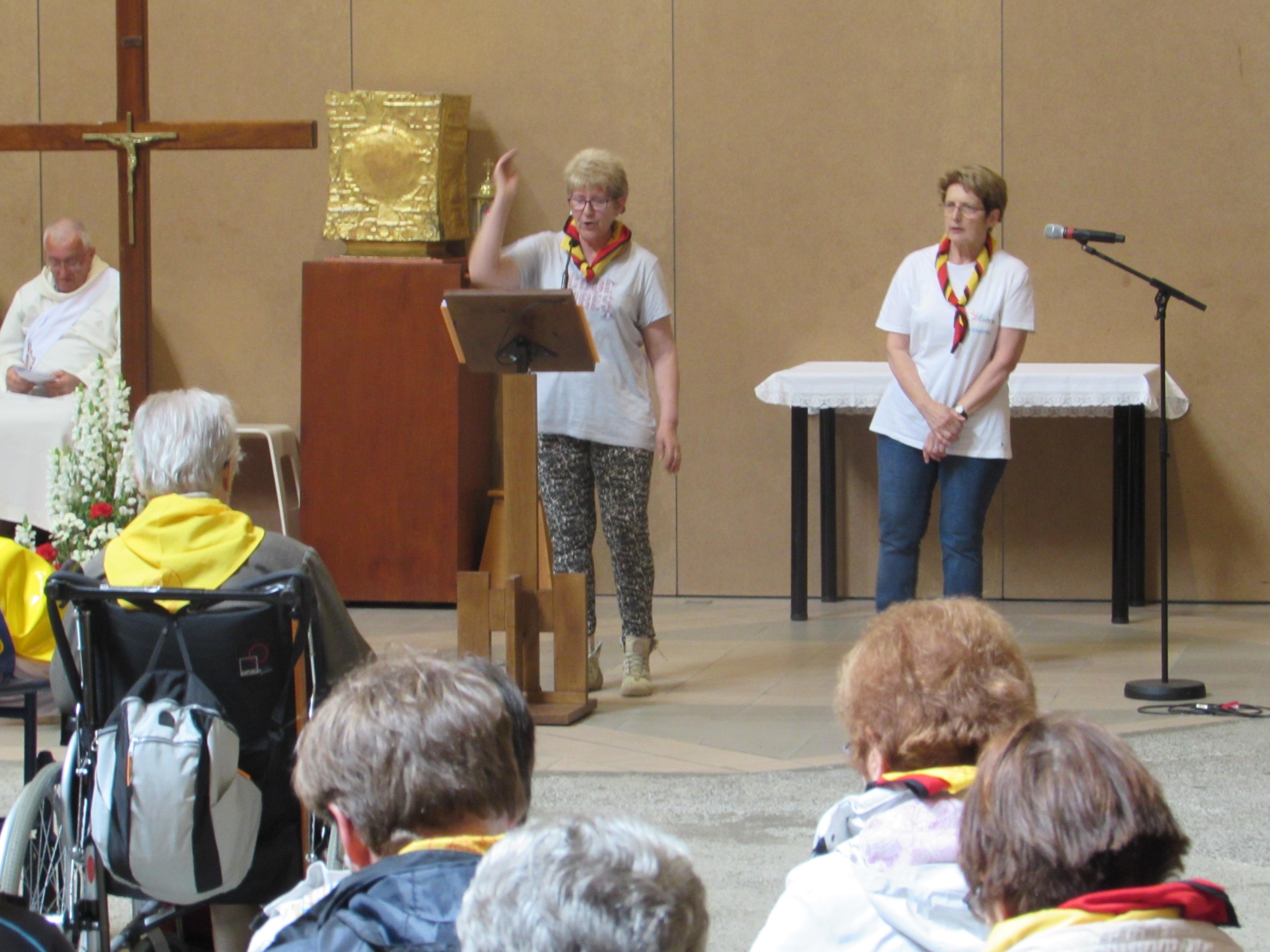 112 - Cérémonie d'ouverture à Ste Bernadette