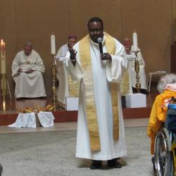 113 - Cérémonie d'ouverture à Ste Bernadette