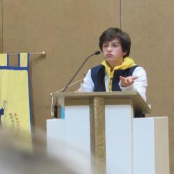 115 - Cérémonie d'ouverture à Ste Bernadette