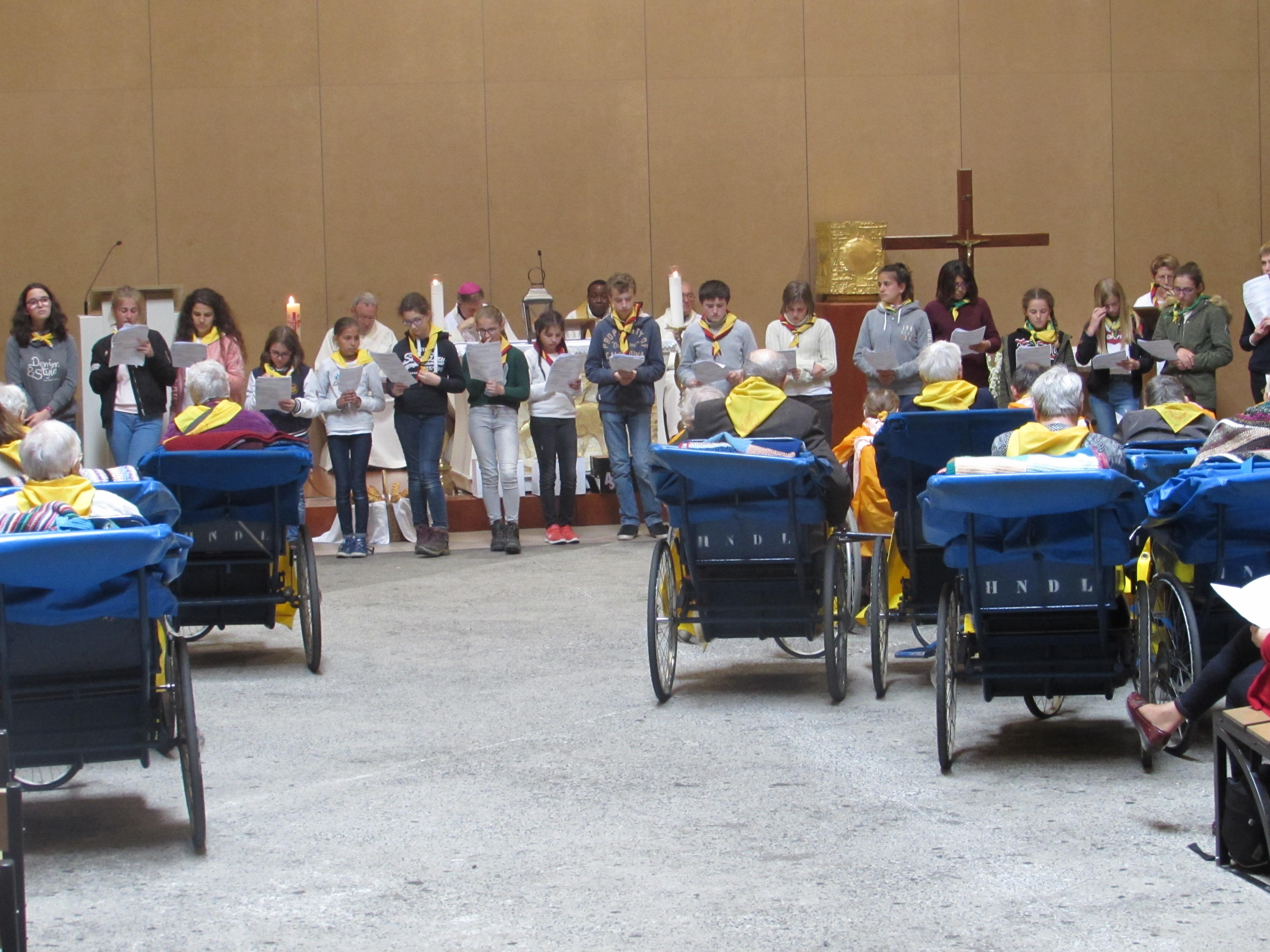 117 - Cérémonie d'ouverture à Ste Bernadette