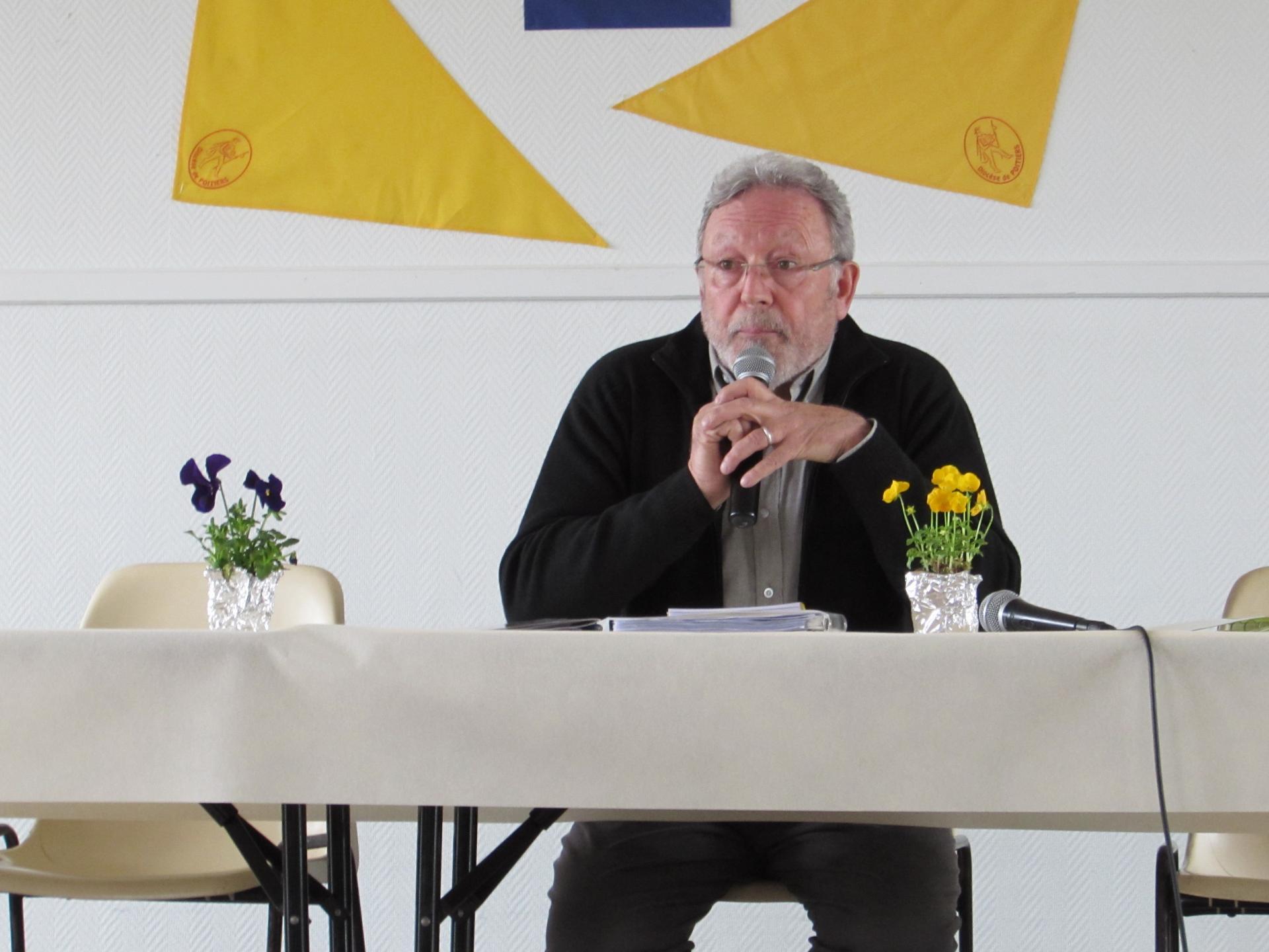 13.Gérard, notre nouveau président