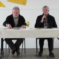 16.Gérard et M.André, trésorerier sortant