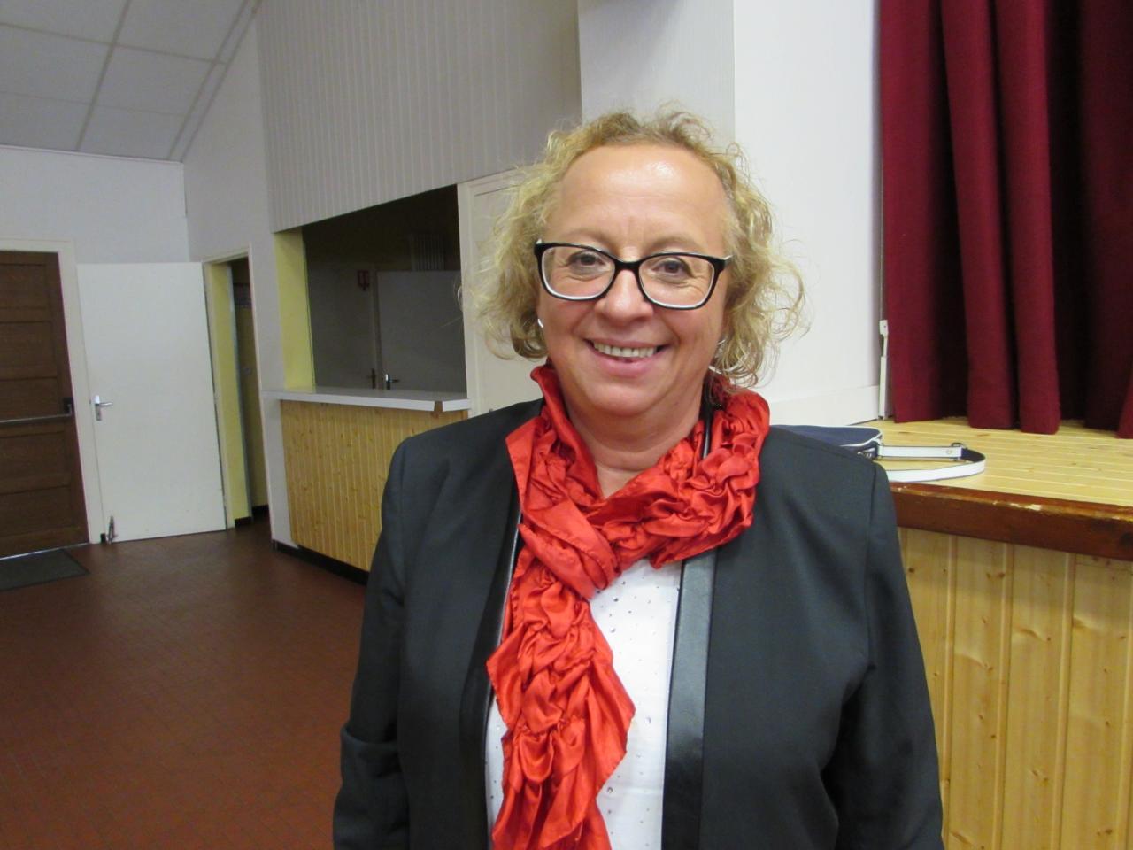 23.Josiane BONNAUD remplaçante de Marie-Cécile, vice-présidente pour 2018
