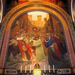 4.Le portement de croix