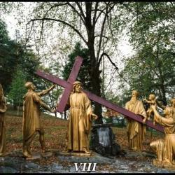 VIIIème Station - Jésus parle aux femmes de Jérusalem