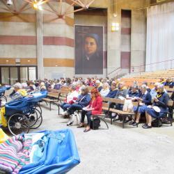 99 - Cérémonie d'ouverture à Ste Bernadette