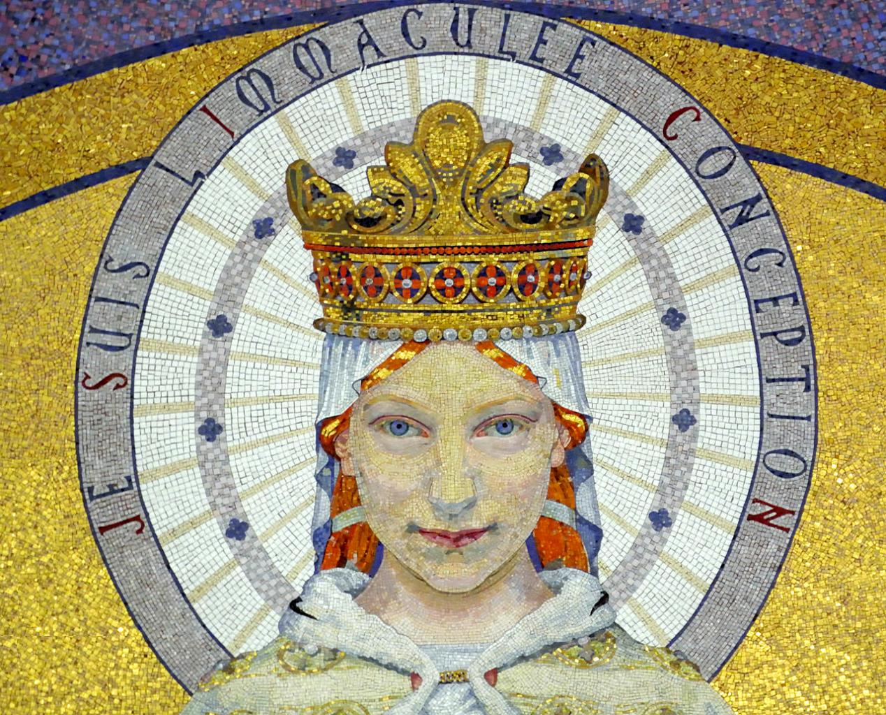 Choeur de la Basilique - la Vierge