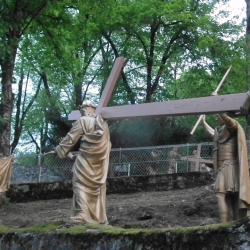 VIème - Une femme essuie le visage de Jésus