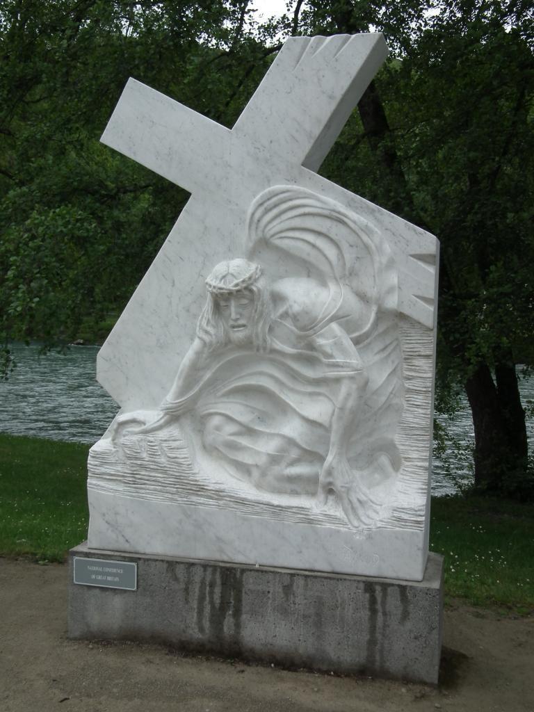 VII - Jésus tombe pour la 2ème fois