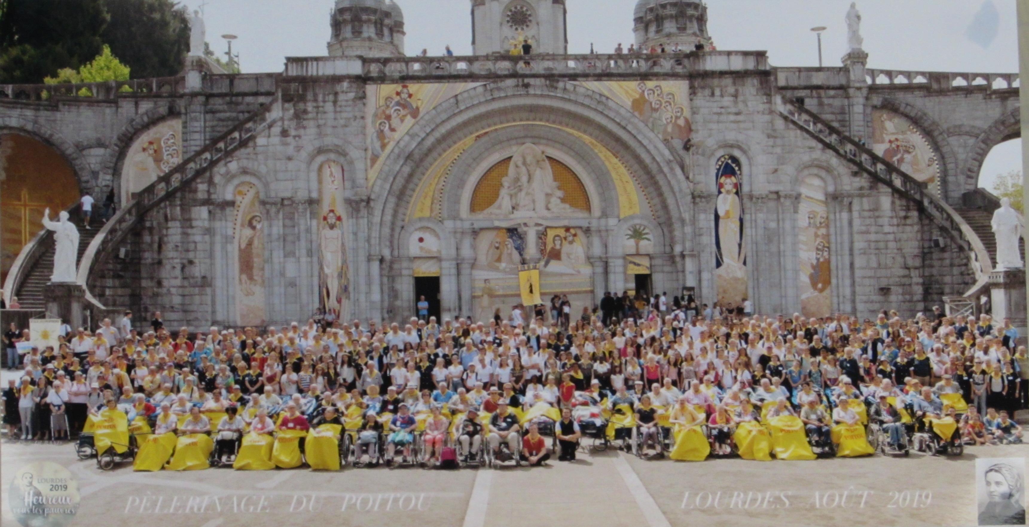 2019 - Lourdes - 5 au 10 Août